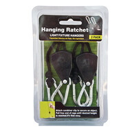"Rope Ratchet Hanger 1/8"" Pair"